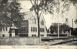 High School and Congregational Church