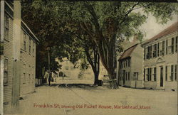 Franklin St., showing Old Picket House