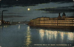 Amoskeag Mills by Night