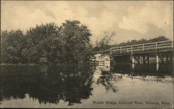 Middle Bridge, Concord River