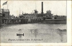 Steamer Chateaugay at Dock