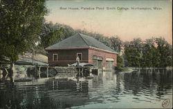 Boat House, Paradise Pond, Smith College