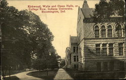 Kirkwood, Wylie and Owen Halls