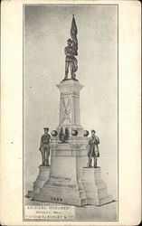 Soldiers' Monument, Inscription - 1908