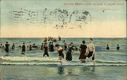 Bathers at Revere Beach