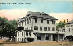 View of Hotel Postcard