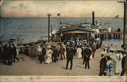 Boat Landing, Rocky Point Postcard