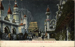 Luna Park, Promenade by Night