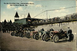 On the Starting Line, Automobile Races