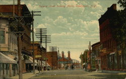 Seneca Street looking North Postcard