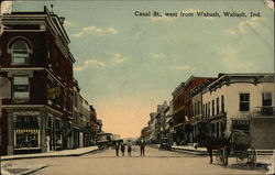 Canal St., West from Wabash Postcard