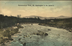Ammonoosuc River, Mt. Washington in the Distance