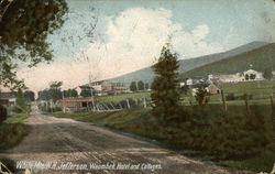 Waumbek Hotel and Cottages, Jefferson