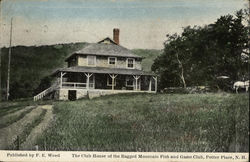 The Club House of the Ragged Mountain Fish and Game Club