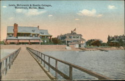 Lewis, McCormick & Hamlin Cottages, Waterfront