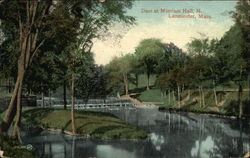 Dam at Merriam Hall