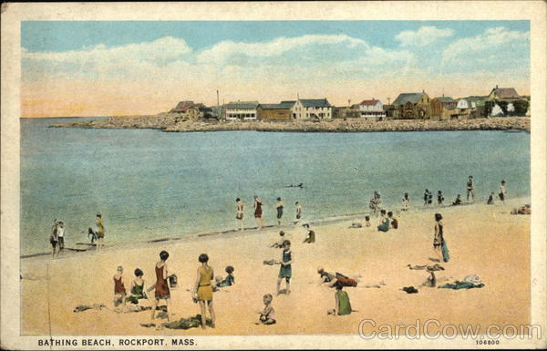 Bathing Beach Rockport Massachusetts