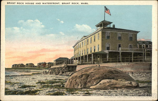 Brant Rock House and Waterfront Massachusetts