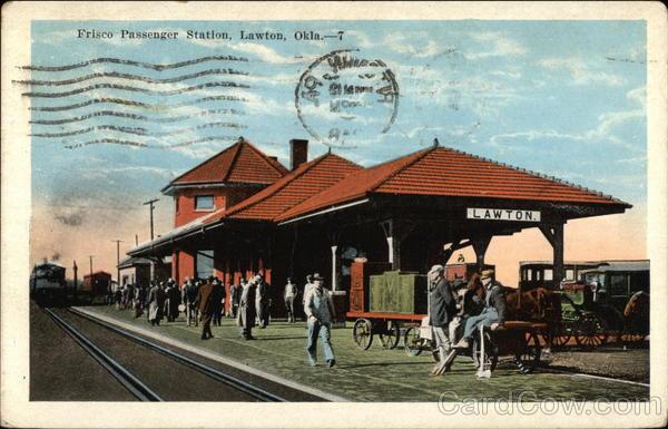 Frisco Passenger Station Lawton Oklahoma