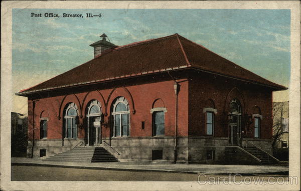 Post Office Streator Illinois