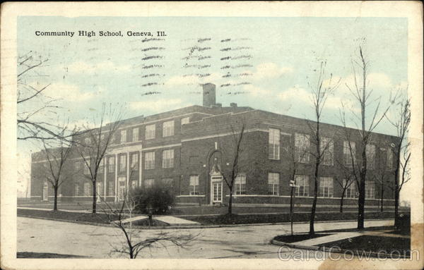 Community High School Geneva Illinois