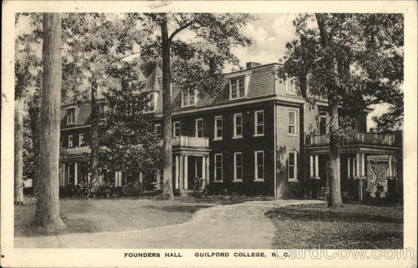 Founders Hall, Guilford College Greensboro North Carolina