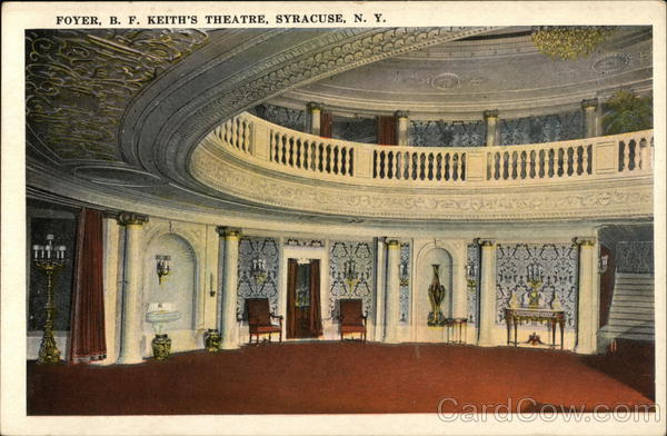 B. F. Keith's Theatre - Foyer Syracuse New York