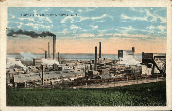Solvay Process Works New York