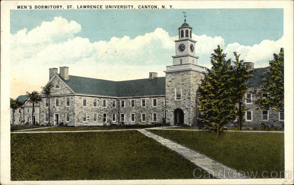 Men's Dormitory, St. Lawrence University Canton New York
