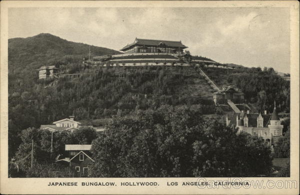 Japanese Bungalow Hollywood California