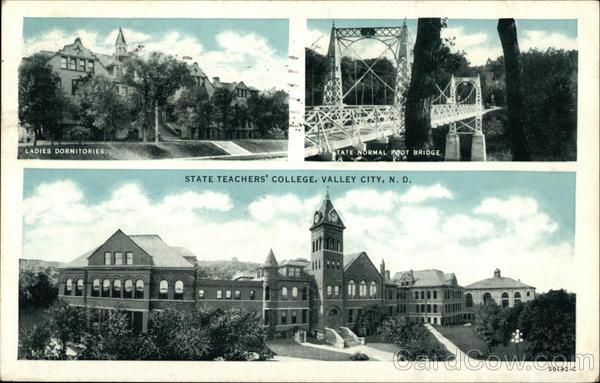 State Teachers College Valley City North Dakota