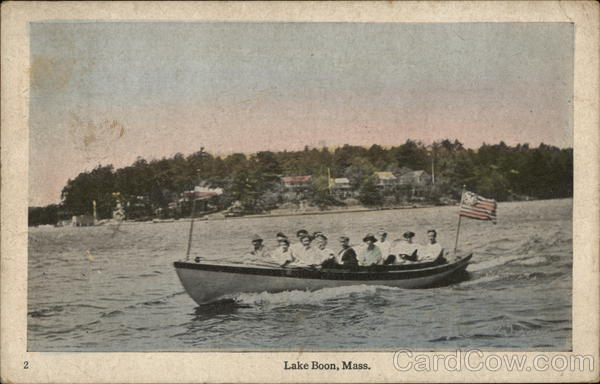 Lake Boon, Mass Stow Massachusetts