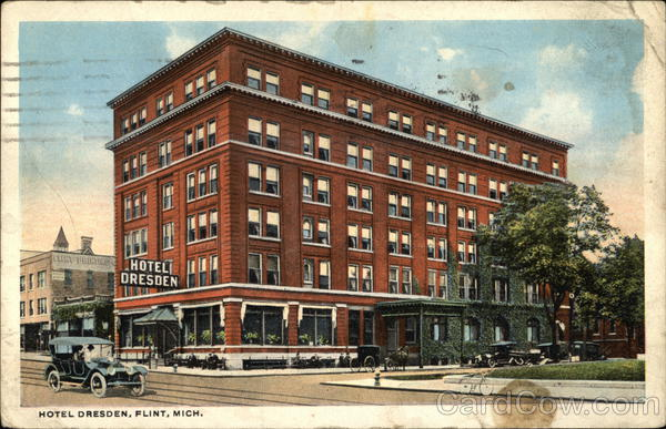 Hotel Dresden Flint Michigan