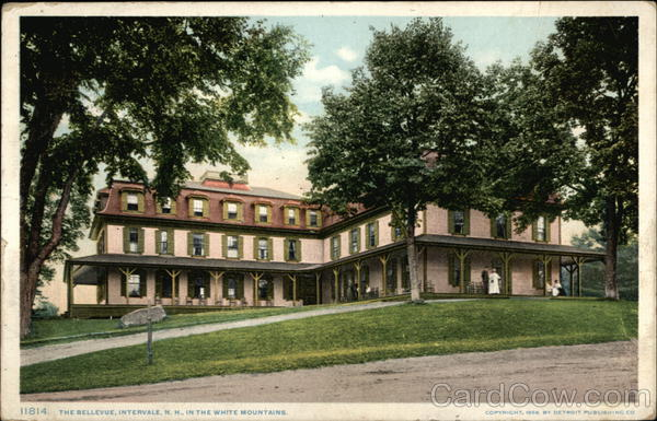 The Bellevue, in the White Mountains Intervale New Hampshire