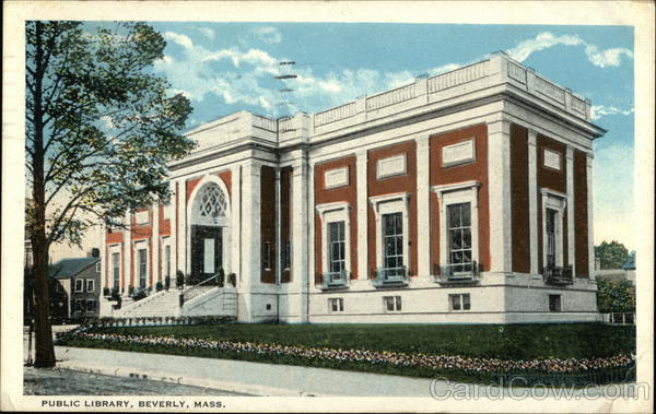 Public Library Beverly Massachusetts