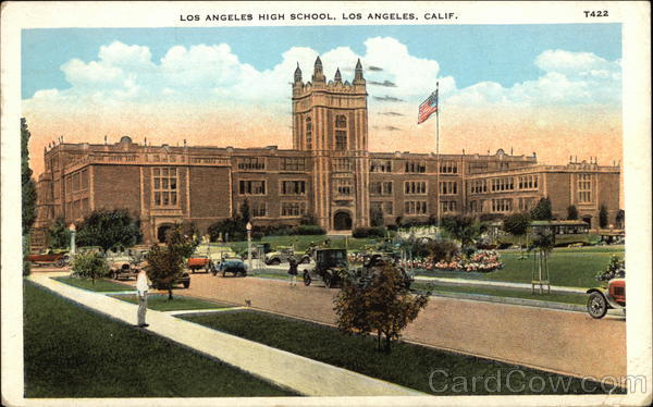 Los Angeles High School California