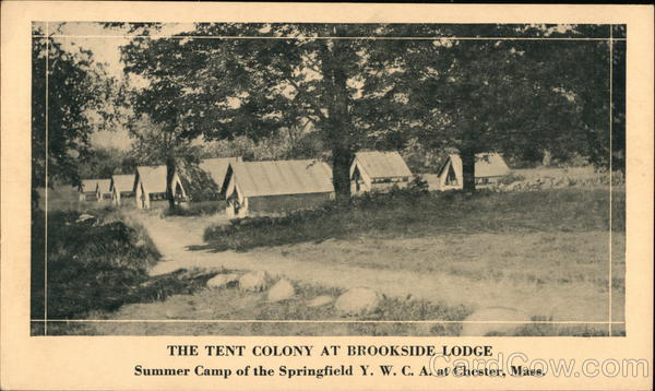 The Tent Colony at Brookside Lodge Chester Massachusetts