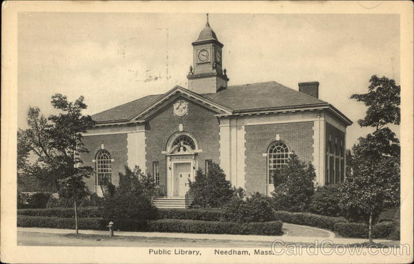 Public Library Needham Massachusetts