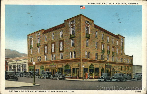 Monte Vista Hotel - Gateway to Scenic Wonders of Northern Arizona Flagstaff