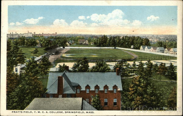 Pratts Field, Y.M.C.A. College Springfield Massachusetts