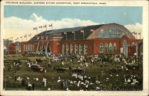 Coliseum Building, Eastern States Exposition West Springfield Massachusetts