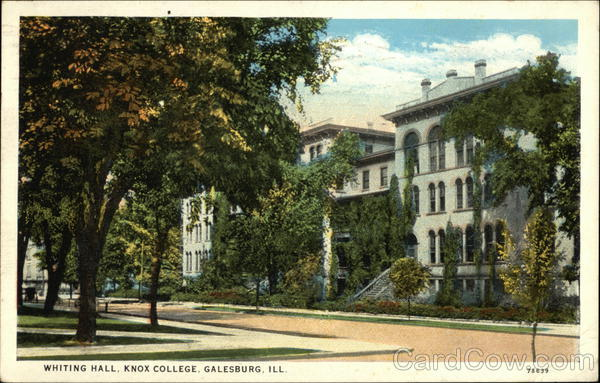 Knox College - Whiting Hall Galesburg Illinois