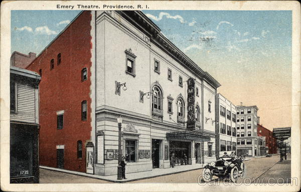 Emery Theatre Providence Rhode Island