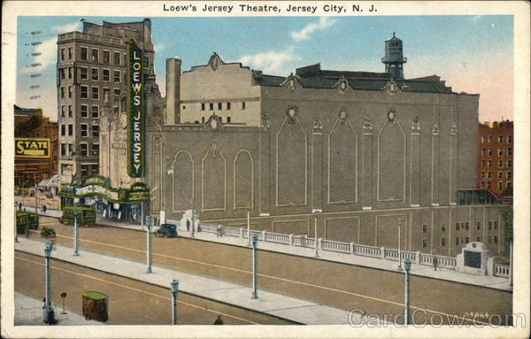 Loew's Jersey Theatre Jersey City New Jersey