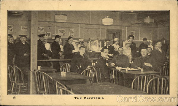 The Cafeteria, YMCA Battery Park New York City Military
