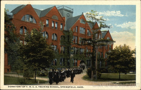 Dormitory of Y.M.C.A. Training School Springfield Massachusetts