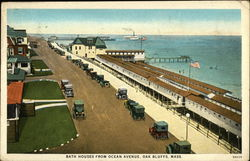 Bath Houses From Ocean Avenue
