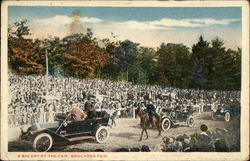 A Big Day at the Fair, Brockton Fair Postcard
