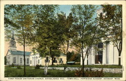 First Parish Church Postcard