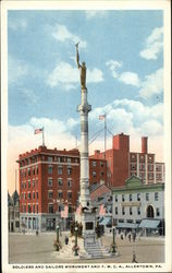 Soldiers and Sailors Monument and YMCA